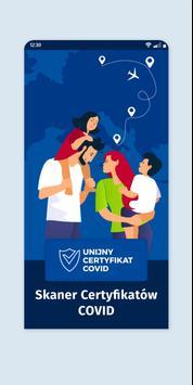 Skaner Certyfikatów COVID-poster