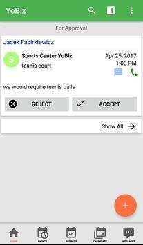 YoBiz screenshot 1