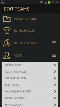 Speedway Programme screenshot 1