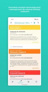 Meteo IMGW Prognoza dla Polski screenshot 3
