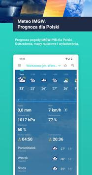 Meteo IMGW Prognoza dla Polski poster