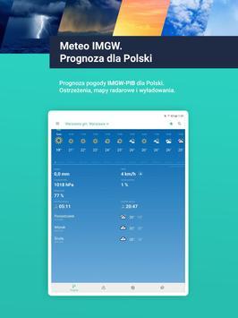 Meteo IMGW Prognoza dla Polski screenshot 7