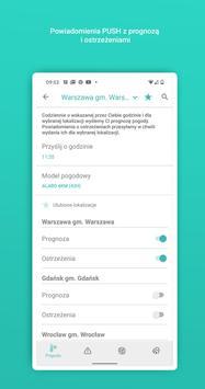 Meteo IMGW Prognoza dla Polski screenshot 6
