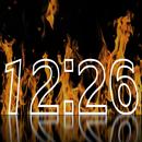 화재 시계 라이브 배경 화면 APK