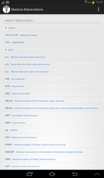 Medical Abbreviations screenshot 4