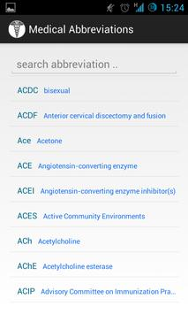 Medical Abbreviations poster