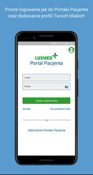 Poster Portal Pacjenta LUX MED