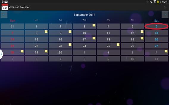 Moniusoft Calendar Ekran Görüntüsü 12
