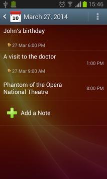 Moniusoft Calendar Ekran Görüntüsü 1