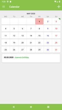 Calendar ảnh chụp màn hình 3