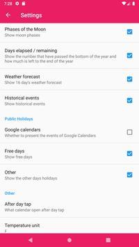 Calendar ảnh chụp màn hình 6