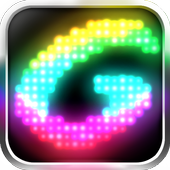 Glowing icon