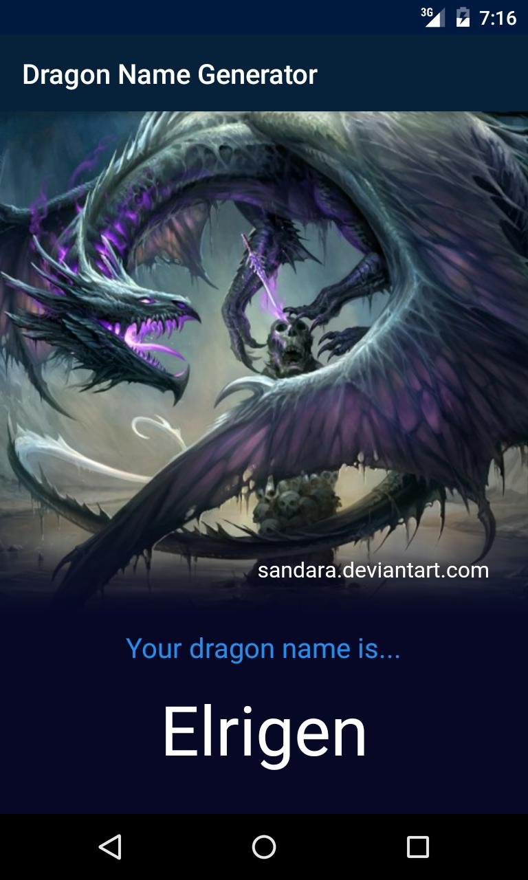 Dragon Name Generator for Android - APK Download