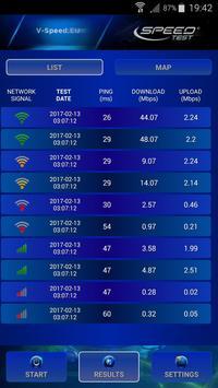3 Schermata Internet Speed Test