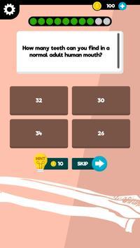 Anatomy & Physiology - Free Quiz & Trivia App poster