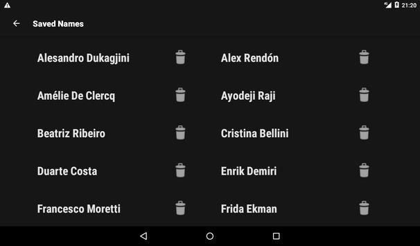 Fake Name Generator screenshot 9