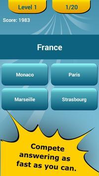 Countries Capitals Quiz screenshot 1
