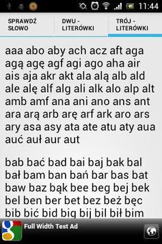 Scrabble - sprawdź słowo screenshot 4