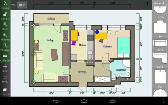 Floor Plan Creator capture d'écran 8