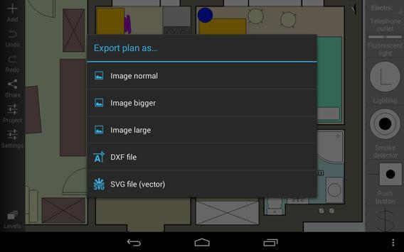 Floor Plan Creator capture d'écran 9