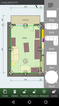 Floor Plan Creator capture d'écran 1