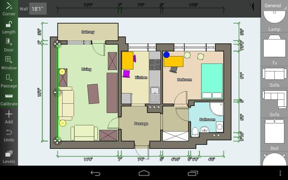 Floor Plan Creator capture d'écran 11