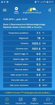 Weather in Toruń (Polish City) poster