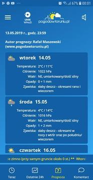 Weather in Toruń (Polish City) screenshot 2