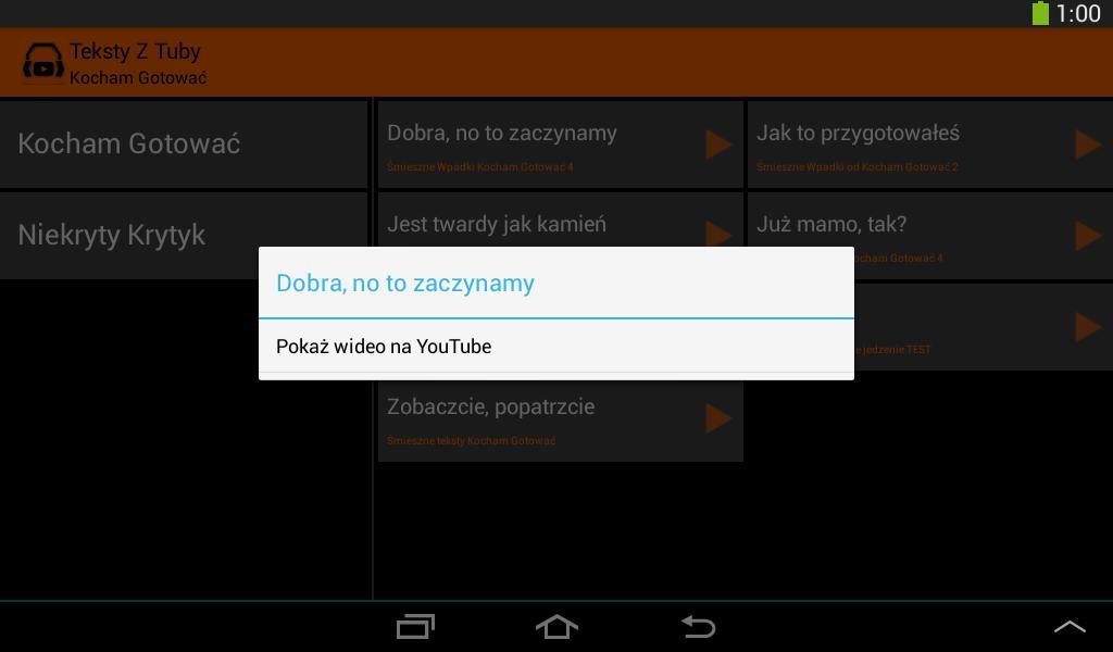 Teksty Z Tuby For Android Apk Download