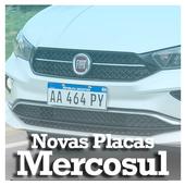 Novas Placas Mercosul icon