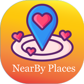 Places nearby Me, Attraction nearby me, nearest icon
