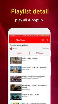 Play Tube : Video Tube Player screenshot 7