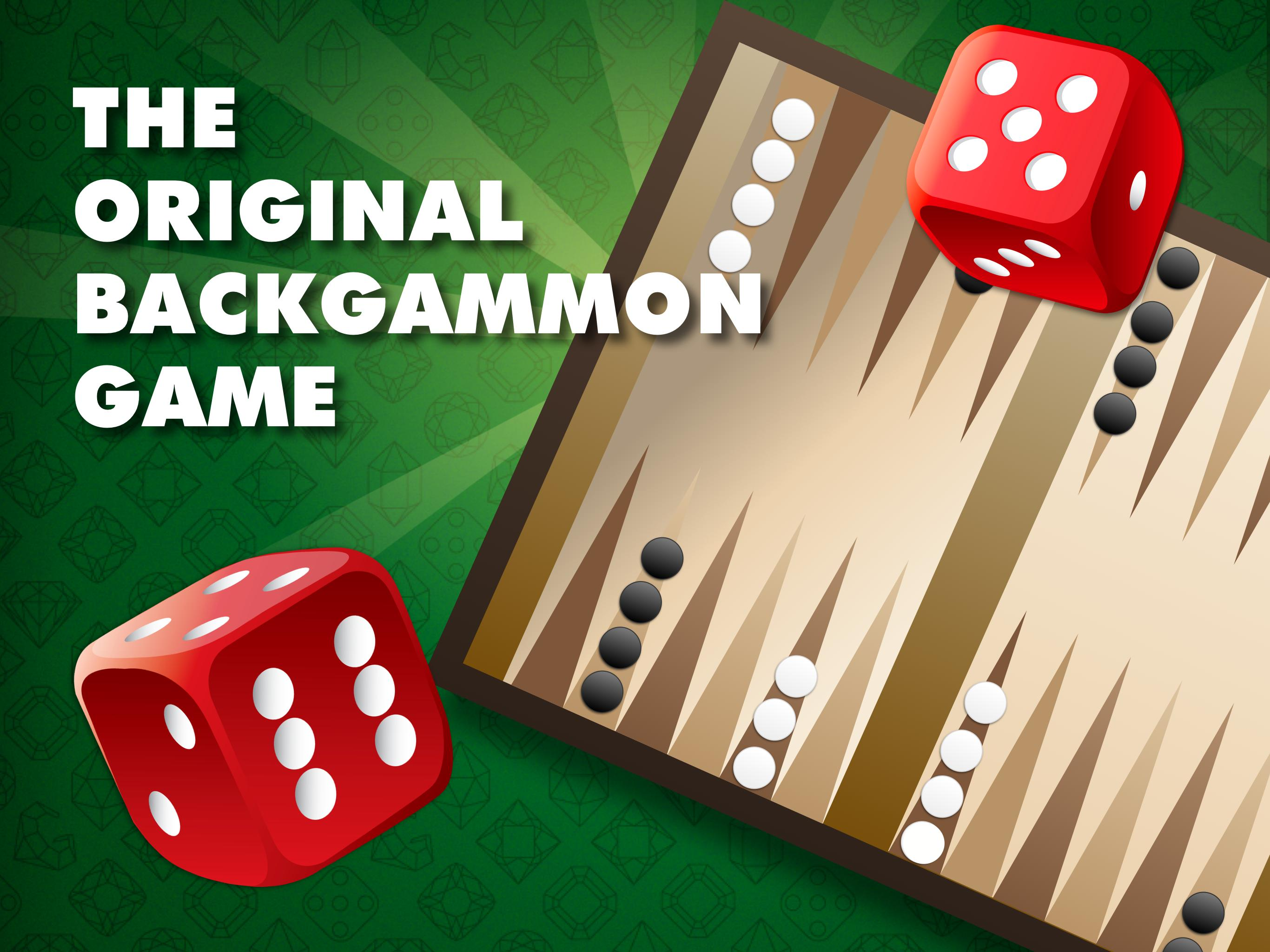 Backgammon poster