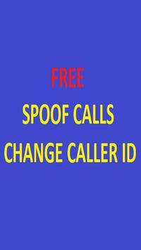 PRANK CALLS WITH FAKE CALLER ID + FREE CREDIT poster