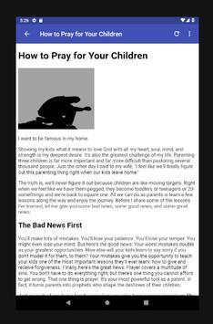 Prayers For Children screenshot 8