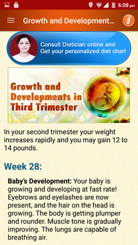 Pregnancy Care Healthy Diet & Nutrition Foods Help screenshot 7