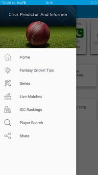 2 Schermata CricInformer-Tips for dream11,11wickets,Champclash