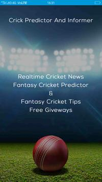 3 Schermata CricInformer-Tips for dream11,11wickets,Champclash
