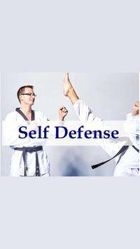 instant Self Defense  techniques poster