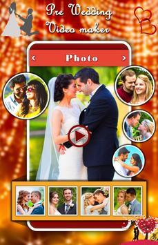 Pre Wedding Video Maker poster