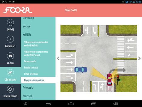 Foora za šole vožnje screenshot 2