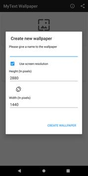 MyText - Text Wallpaper Maker, Focus on your Goals for Android - APK