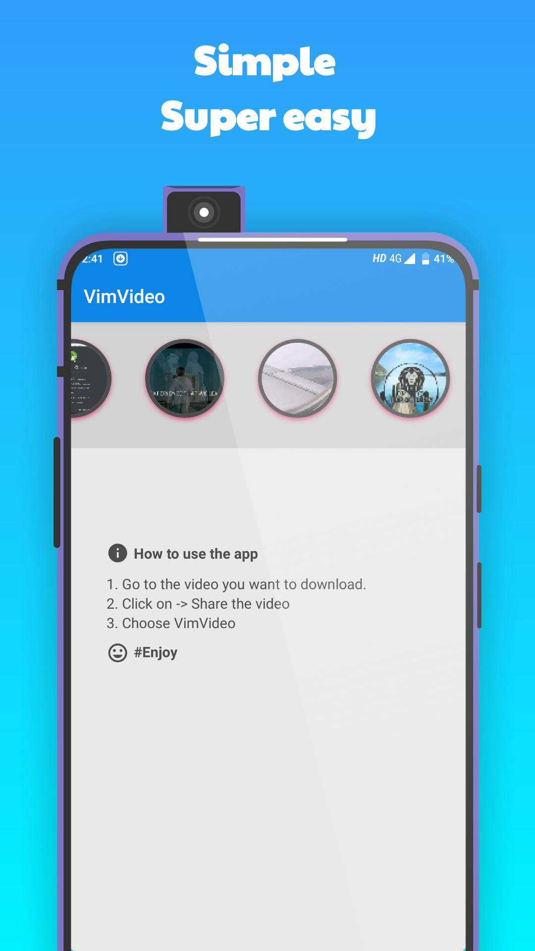 VimVideo - All Videos downloader for Vimeo Videos for