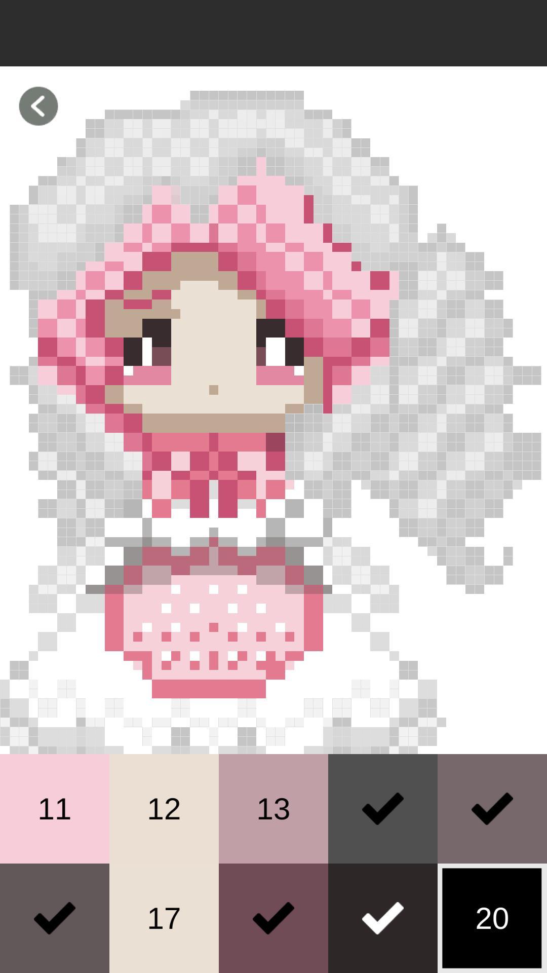 Couleur Par Numéro Princesse Pixel Art Princess Pour