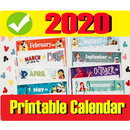 Printable 2020 Calendar - Month Week Wise Download APK Android
