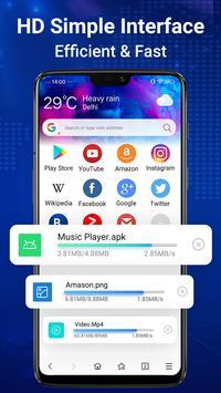 Browser Web - Web Explorer Cepat, Privasi & Ringan screenshot 1