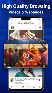 Browser Web - Web Explorer Cepat, Privasi & Ringan screenshot 2
