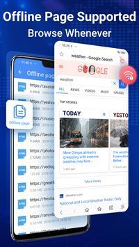 Browser Web - Web Explorer Cepat, Privasi & Ringan screenshot 7