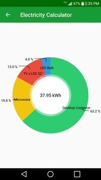Electricity Consumption Calculator screenshot 2