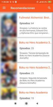 Anime Center captura de pantalla 3
